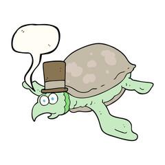 speech bubble cartoon turtle