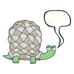 speech bubble cartoon tortoise