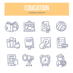 Education Doodle Icons