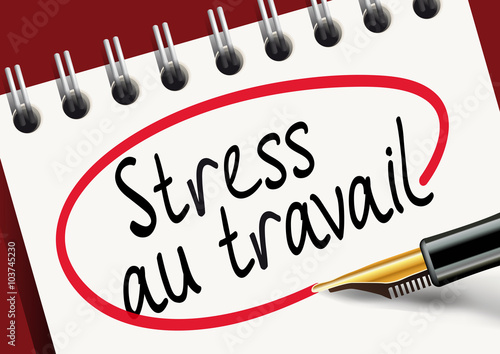Stress au travail burnout fichier vectoriel libre de for Stress travail