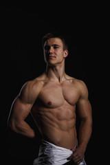 Sexy bodybuilding man