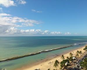 Orla de Recife, Pernambuco, Brasil