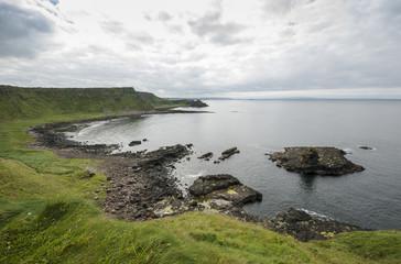 Cliffs near Giant's Causeway, County Antrim, Northern Ireland