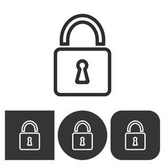 Lock - vector icon.