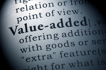 definition of value-added