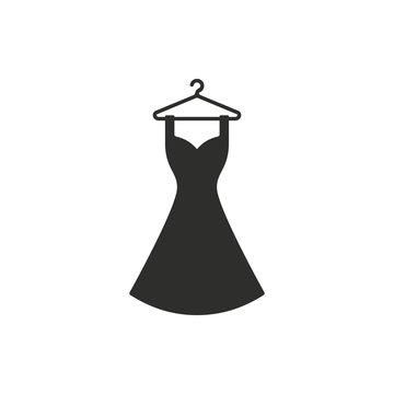 Dress - vector icon.