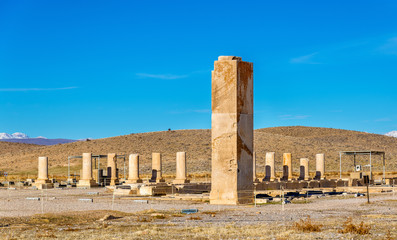Palace of Cyrus the Great in Pasargadae, Iran