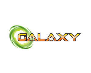 galaxy typography 3