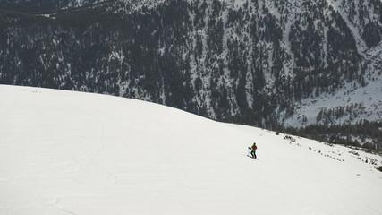 Trying extreme slopes