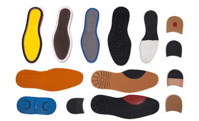 silicon shoe heel