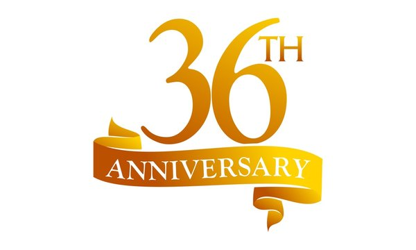 36 Ribbon Anniversary
