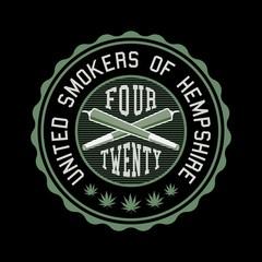 Marijuana Ganja Weed Vector Badge Design