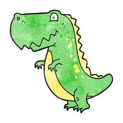 textured cartoon dinosaur