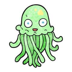 textured cartoon octopus