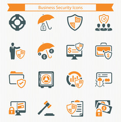 Business Security Icons