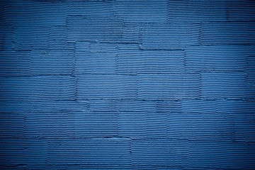 Blue striped wall texture background