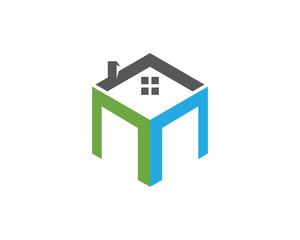 Home and Building Business Property Logo Template