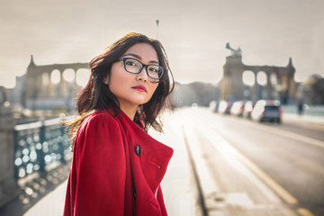 Portrait in Budapest