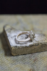 jewelry making/ring on the stone