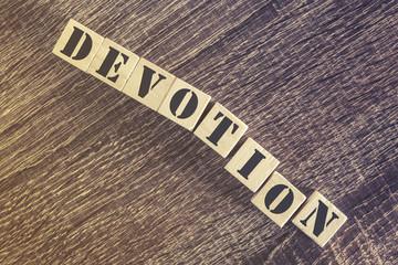 Devotion message