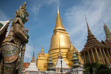 The Giant statue in Wat Phra Kaew,Bangkok, Thailand