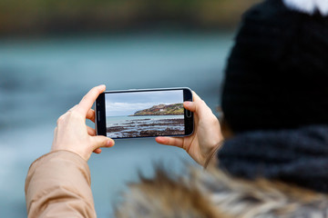 Photoshoot with smartphone