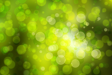 Natural green blurred background.