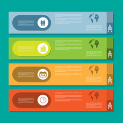 Infographic horizontal cards. Flat design, no transparency, no gradients.