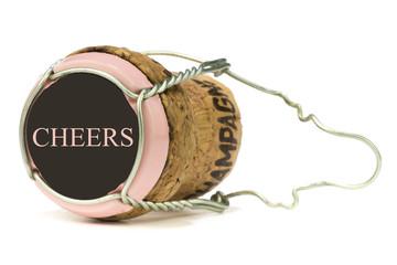 Champagerkorken Rose´ Cheers