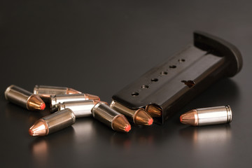 9 mm Ammunition and Magazine