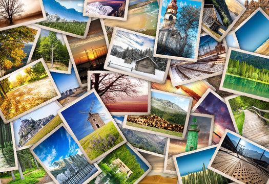 raccolta di cartoline vintage