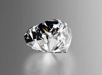 Diamond. Sign of love. Fashion jewelry background