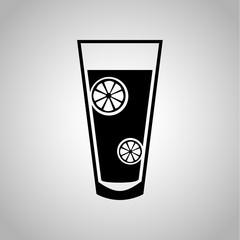 Cup of lemonad icon