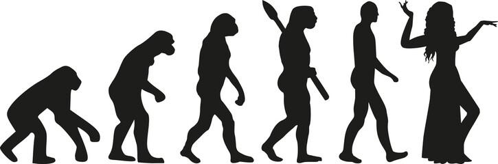 Belly dance evolution