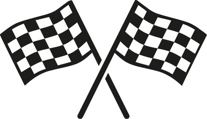 Kartracing goal flags