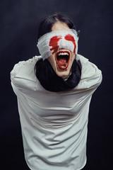 crazy woman vampire