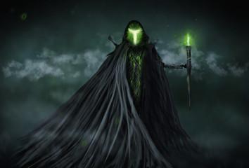 Grim Reaper digital painting