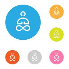 icon flat_yoga