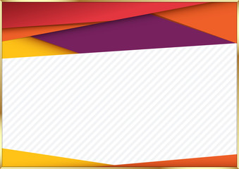 Modern material design background. vector illustration.