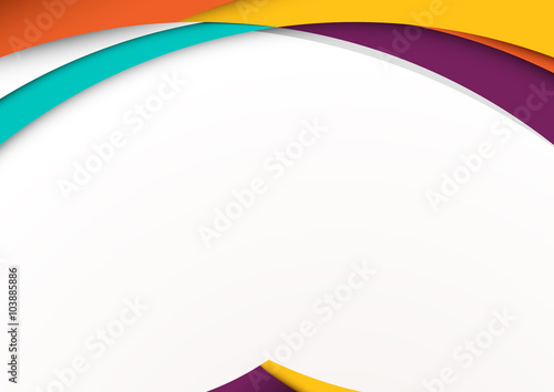 "Modern material design background. vector illustration."" Stock image ..."