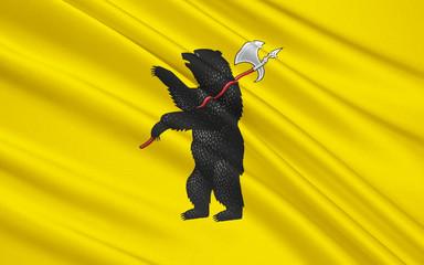 Flag of Yaroslavl Oblast, Russian Federation