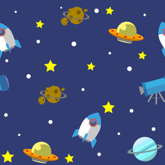 Space pattern illustration 02