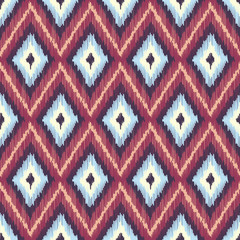 Abstract Modern Ethnic Seamless Fabric Pattern