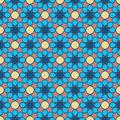 Traditional Ornamental Seamless Islamic Pattern