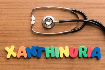 xanthinuria colorful word