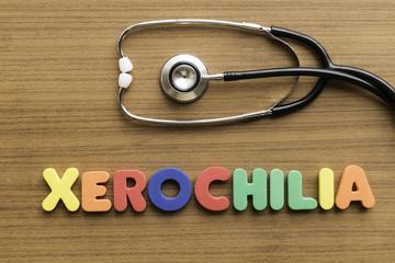 xerochilia colorful word