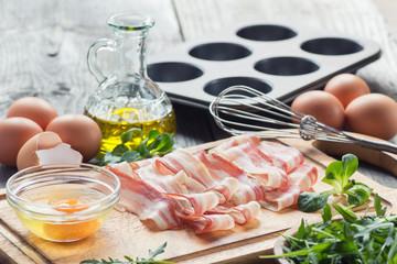 breakfast preparing