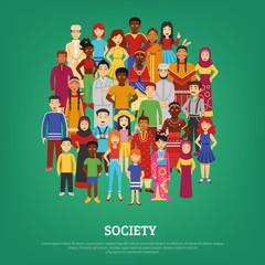 Society Concept Illustration