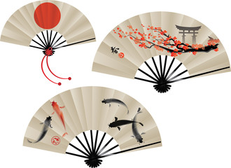 Japanese fans set