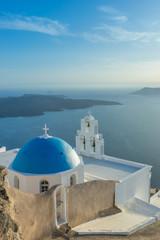Santorini landscape, Island, Greece - fototapety na wymiar
